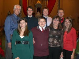 Mary and John Kaufmann and family